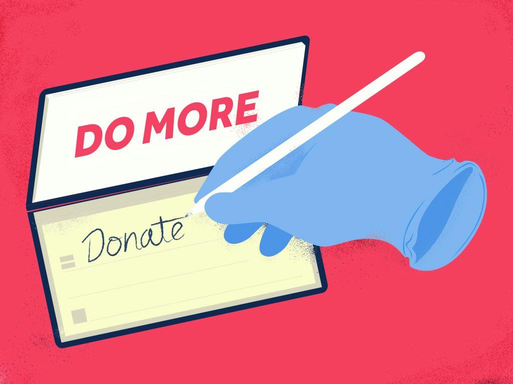 Do more - Donate.